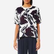 Samsoe And Samsoe Women's Florrie Top Papier Fleurie Multi