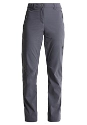 Jack Wolfskin Activate Light Trousers Dark Iron Dark Grey