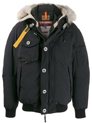 Parajumpers Padded Hooded Jacket Black
