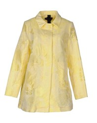 Femme By Michele Rossi Coats And Jackets Full Length Jackets Women Yellow