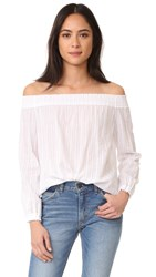 Rag And Bone Drew Top White