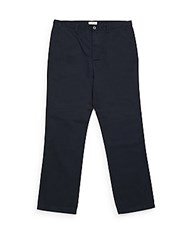 Calvin Klein Big And Tall Solid Cotton Pants Officer Navy