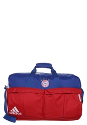 Adidas Performance Fcb Tb Sports Bag Collegiate Royal Fcb True Red Blue