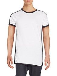 Drifter Ace Tee White Black
