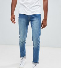 Loyalty And Faith Tall Beattie Skinny Fit Jean In Dark Wash Blue