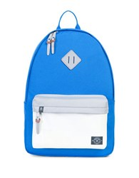 Parkland Meadow Zipped Backpack Light Blue