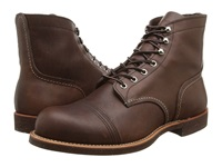 Red Wing Shoes 6 Iron Ranger Amber Harness Men's Lace Up Boots Brown