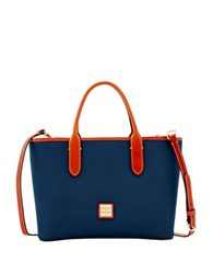 Dooney And Bourke Brielle Leather Crossbody Bag Midnight Blue