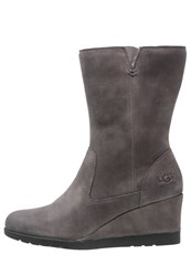 Ugg Joely Winter Boots Charcoal Grey