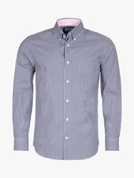 Eden Park Gingham Shirt Navy
