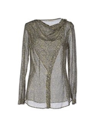 Gold Case Sogno Long Sleeve Shirts Dove Grey