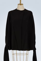 Givenchy Silk Blouse Black