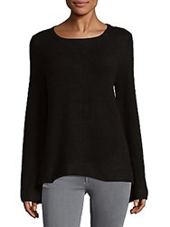 Cashmere Saks Fifth Avenue Bell Sleeve Top Shale