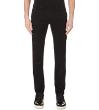 Hugo Boss Leisure Slim Fit Tapered Stretch Denim Jeans Black