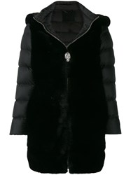 Philipp Plein Statement Padded Coat Black