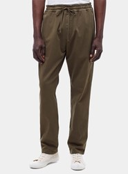 Ymc Olive Green Alva Trousers