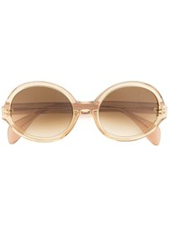 Oscar De La Renta Regina Sunglasses Brown