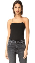 Alexander Wang T By Strappy Top Black