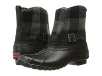 Chooka Step In Duck Boot Buffalo Charcoal Women's Rain Boots Gray