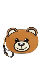 Moschino Teddy Pouch Brown