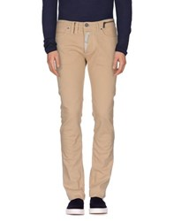 John Galliano Denim Denim Trousers Men Sand