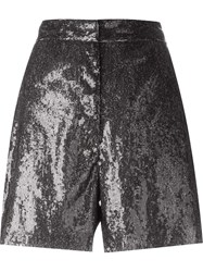 Maison Martin Margiela Mm6 Maison Margiela Sequin Shorts Grey
