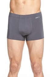 Men's Naked 'Luxury' Micromodal Trunks Grey