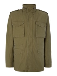 Original Penguin John Jacket With Detachable Gilet Olive