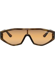 Vogue Eyewear Highline Visor Sunglasses Brown