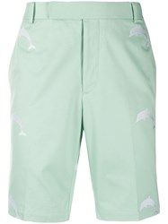Thom Browne Embroidered Dolphin Chino Shorts 60