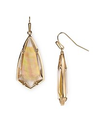 Kendra Scott Carla Earrings Brown Mother Of Pearl