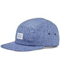 Norse Projects Melange 5 Panel Cap Navy