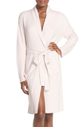 Women's Barefoot Dreams '429' Short Robe Petal Pearl