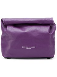 Simon Miller Mini Clutch Bag Pink And Purple