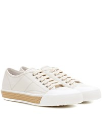 Tod's Cassetta Leather Sneakers White