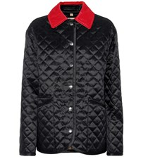 Burberry Quilted Jacket Black