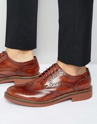 Base London Woburn Brogues Brown