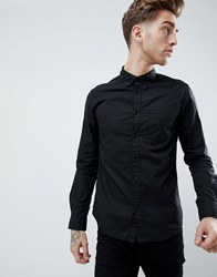 Wrangler Brushed Shirt Black