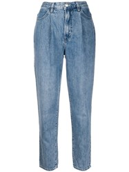 J Brand High Waisted Tapered Leg Jeans 60