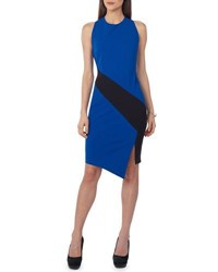 Label By 5Twelve Colorblock Sheath Dress Black Red
