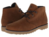 The North Face Ballard Ii Chukka Museum Brown Cosmic Blue Men's Lace Up Boots