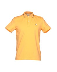 Cooperativa Pescatori Posillipo Polo Shirts Orange