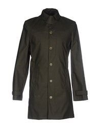Carven Overcoats Military Green