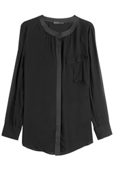 Donna Karan New York Blouse Black
