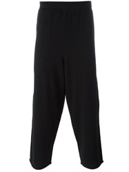 By Walid Dropped Crotch Trousers Black