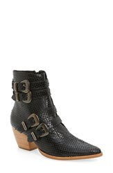 Coconuts By Matisse Women's 'Harvey' Embossed Buckle Boot