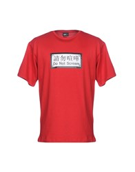 Publish T Shirts Red