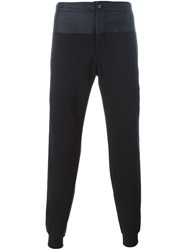 Alexander Mcqueen Side Stripe Track Pants Black