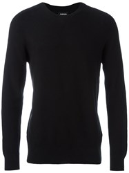 Diesel Crew Neck Sweater Black
