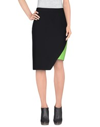Emanuel Ungaro Skirts Knee Length Skirts Women Black